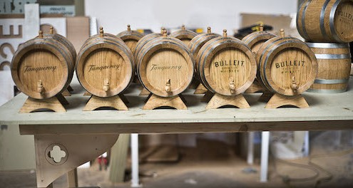 Small Whiskey Casks