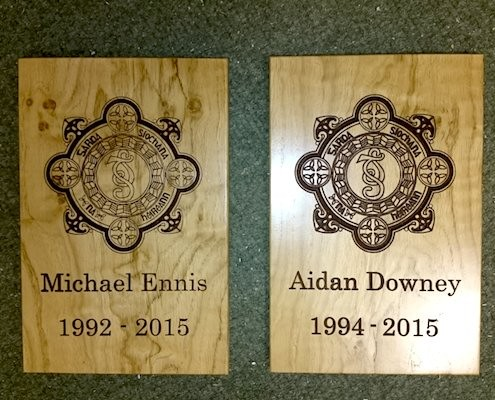 Police Remembrance Plaques